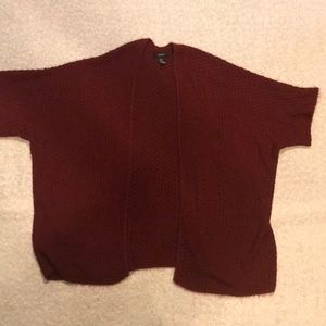 Forever 21 Knit Throw Cardigan
